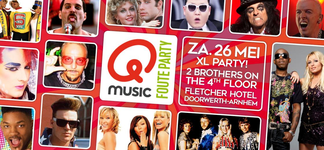 Q-MUSIC Foute Party in Doorwerth